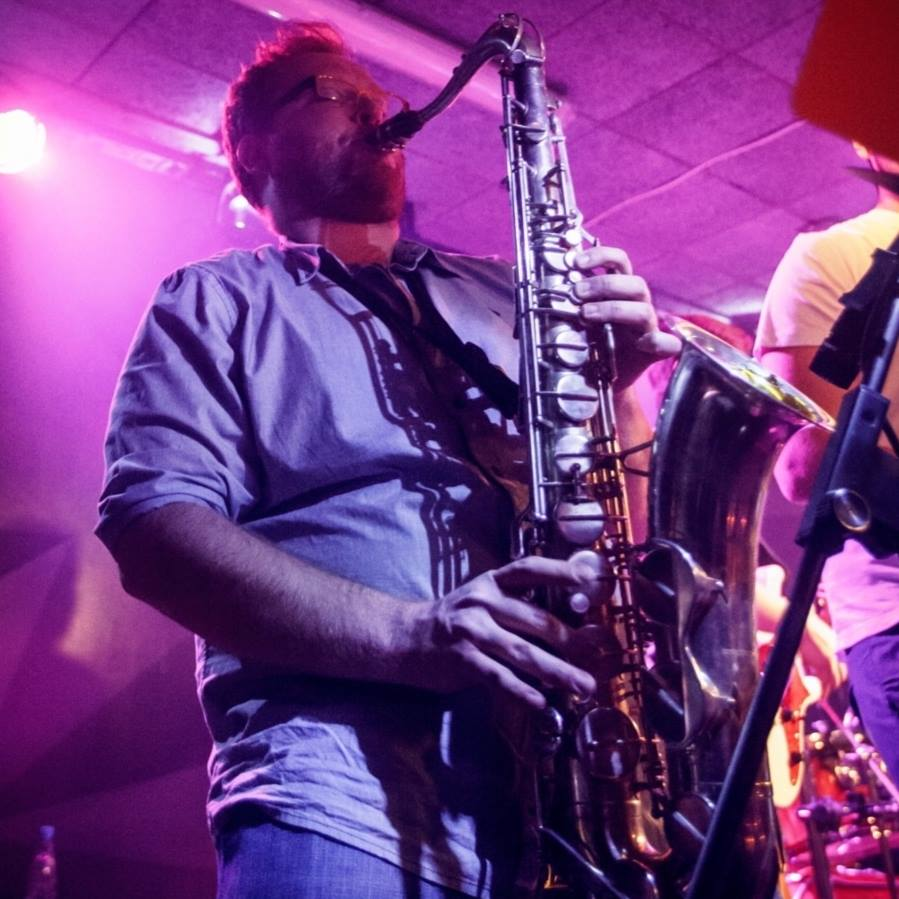 Young saxophonist Saso Fekonja
