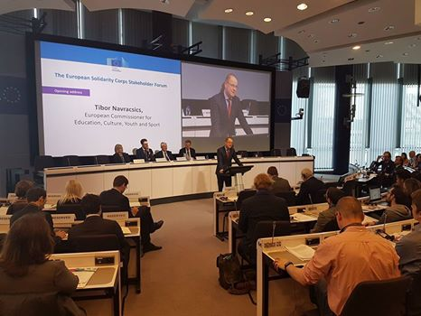 The European Solidarity Corps stakeholders forum